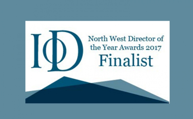 IoD North West Director of the Year Awards Finalist 2017