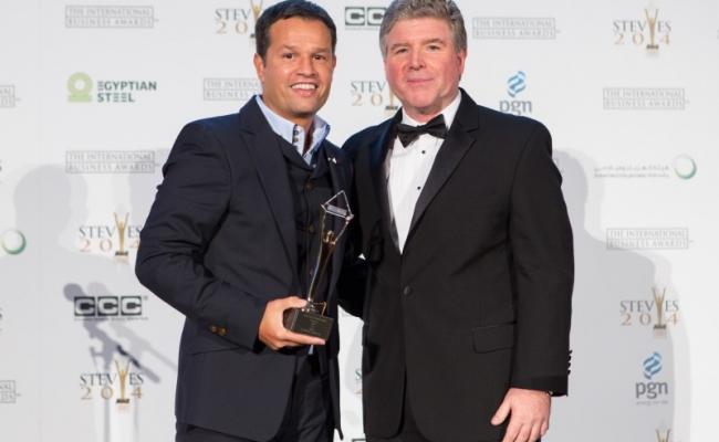Gold Stevie® Award