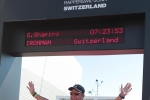 Graham Shapiro - Ironman Switzerland Finishing Line