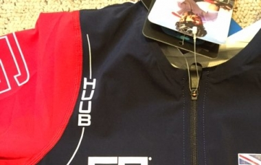 GS® branded triathlon gear by Huub design