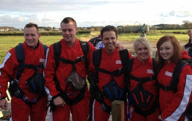 The Kirsty Club Skydive