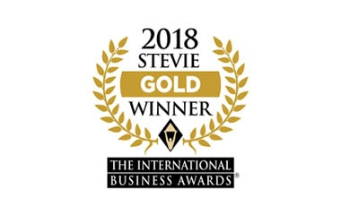 Gold Stevie Award – Entrepreneur of the Year 2018