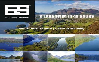 Swim 8 lakes in 48 hours